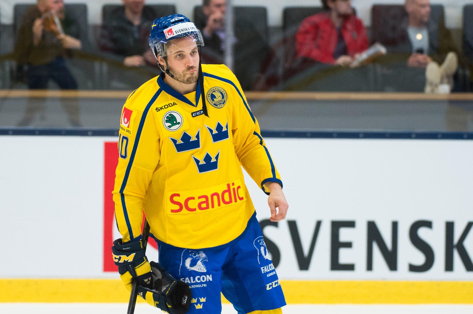 Johan Fransson i Tre Kronor 2016