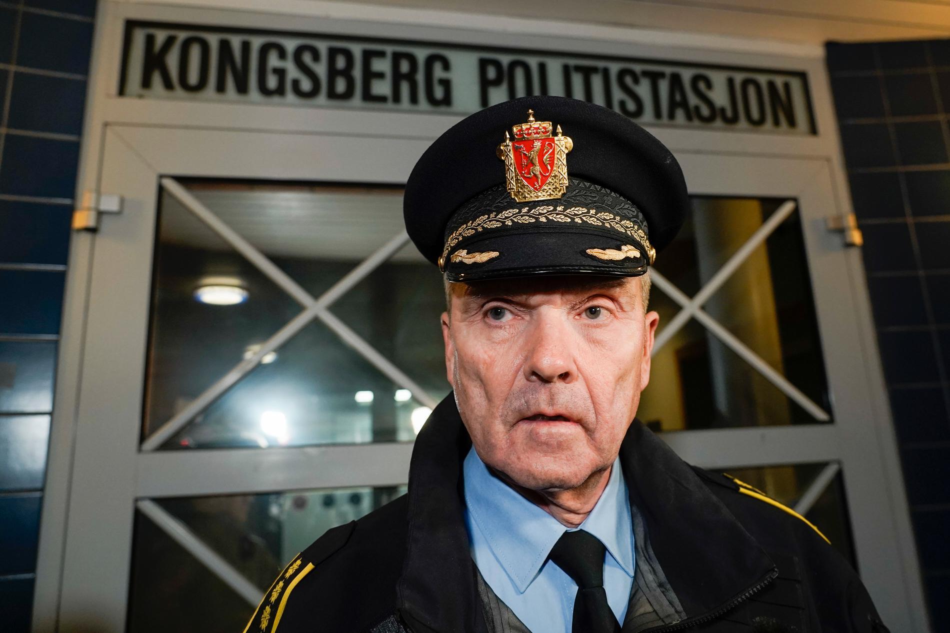 polischefen Øyvind Aas.