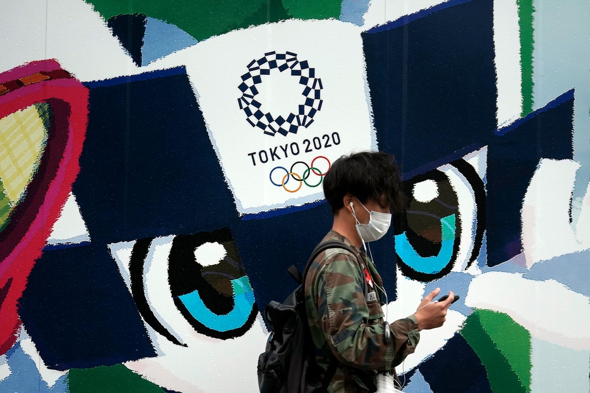 En tropisk storm väntas dra in över OS i Tokyo.