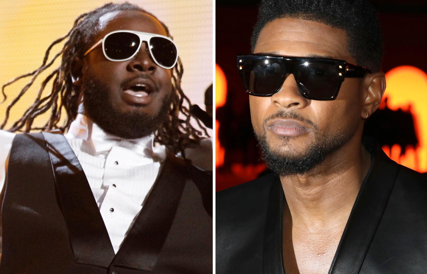 T-Pain och Usher.