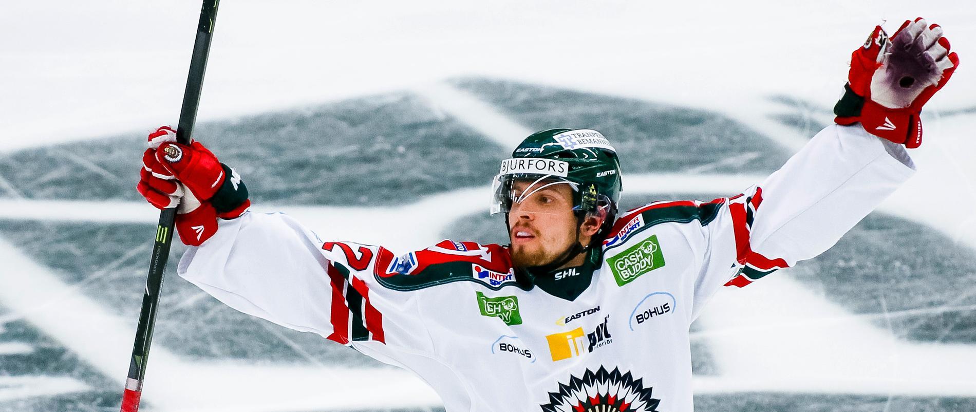 Bengtsson i Frölunda i fjol.