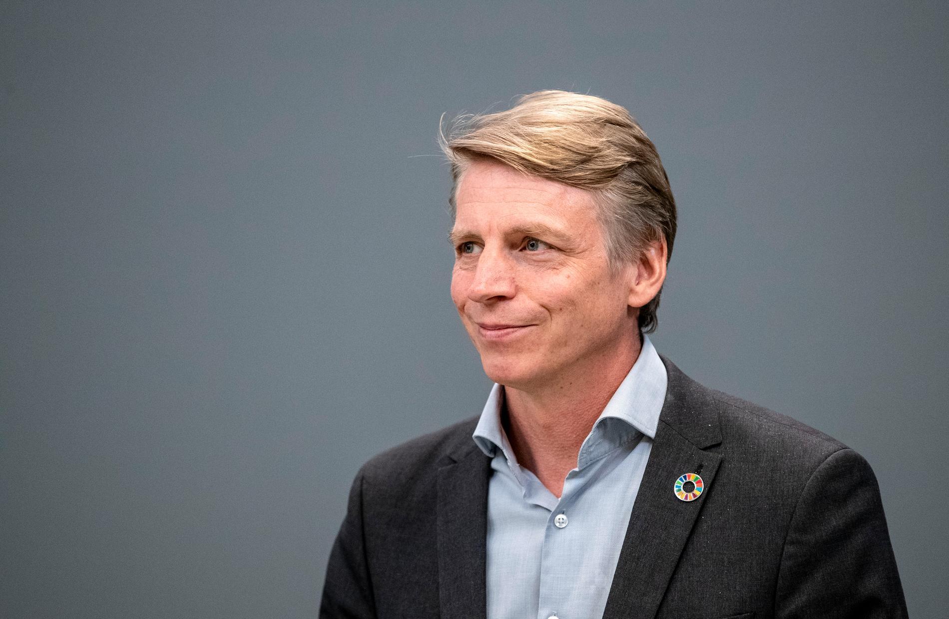 Miljö- och klimatminister Per Bolund (MP) lägger som en del i januariavtalet fram ett förslag på förbud mot utvinning av av fossila bränslen. Arkivbild.