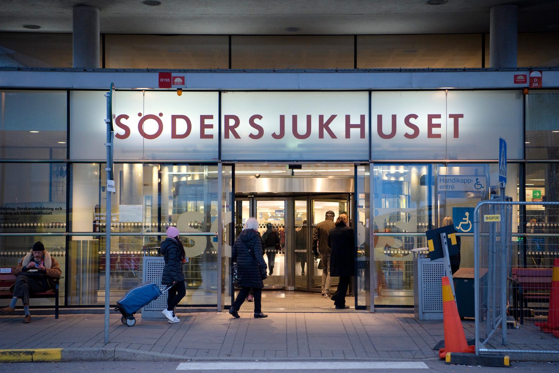 Under helgen gick Södersjukhuset upp i stabsläge på grund av en enorm överbelastning.