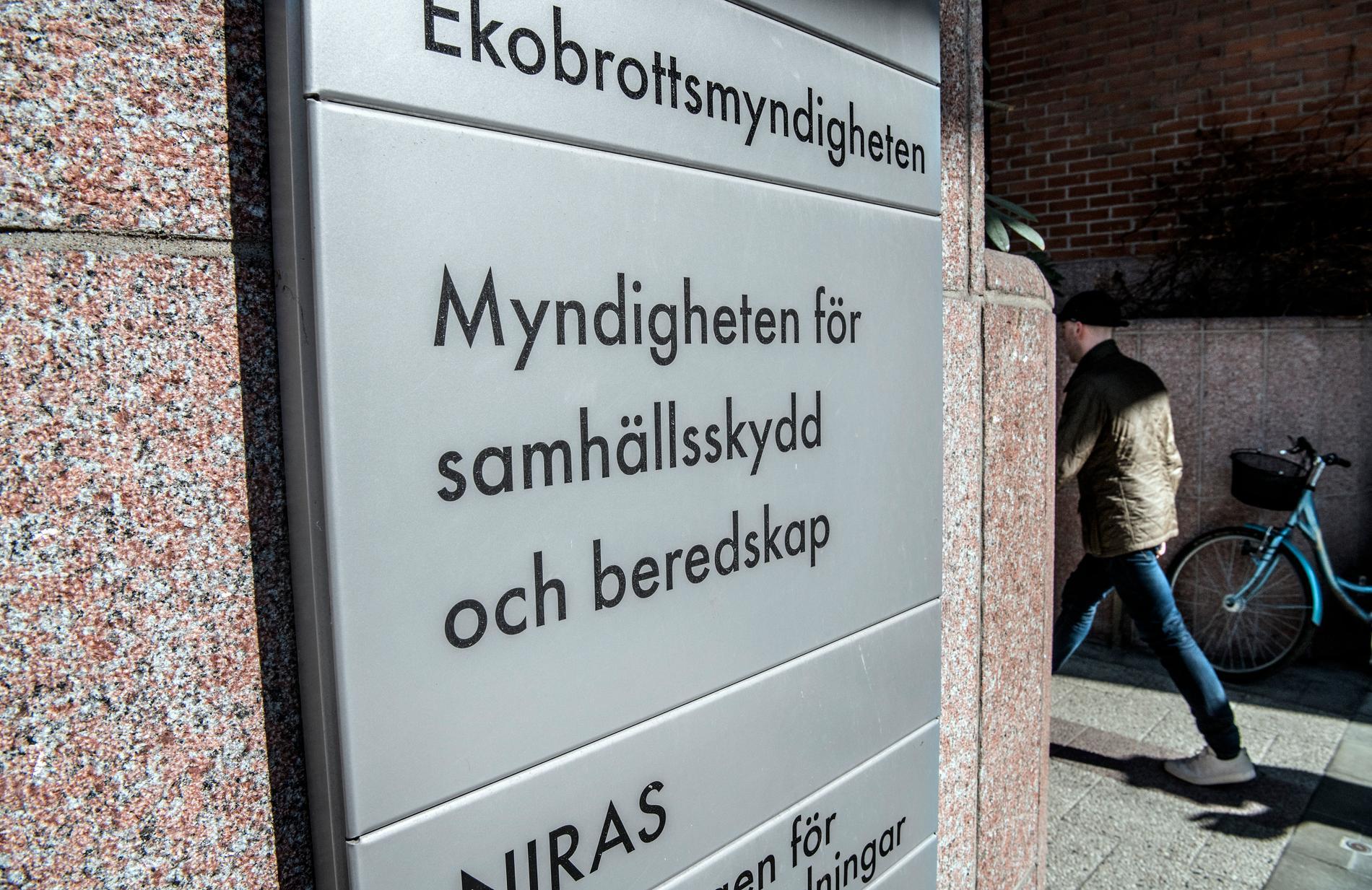 MSB, Myndigheten för samhällsskydd och beredskap.