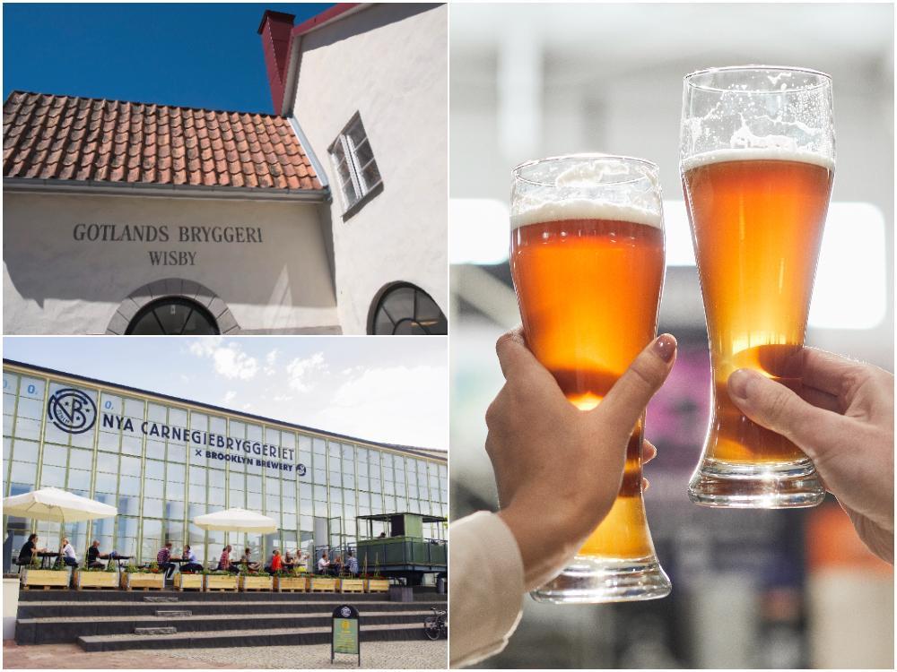 Lär dig mer om öl – besök ett bryggeri.