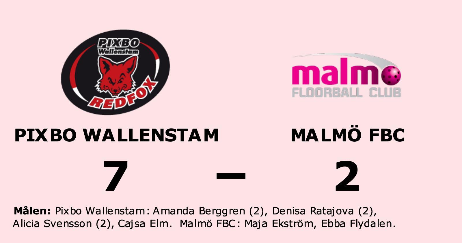 Malmö FBC förlorade mot Pixbo Wallenstam – släppte in fem mål i tredje perioden
