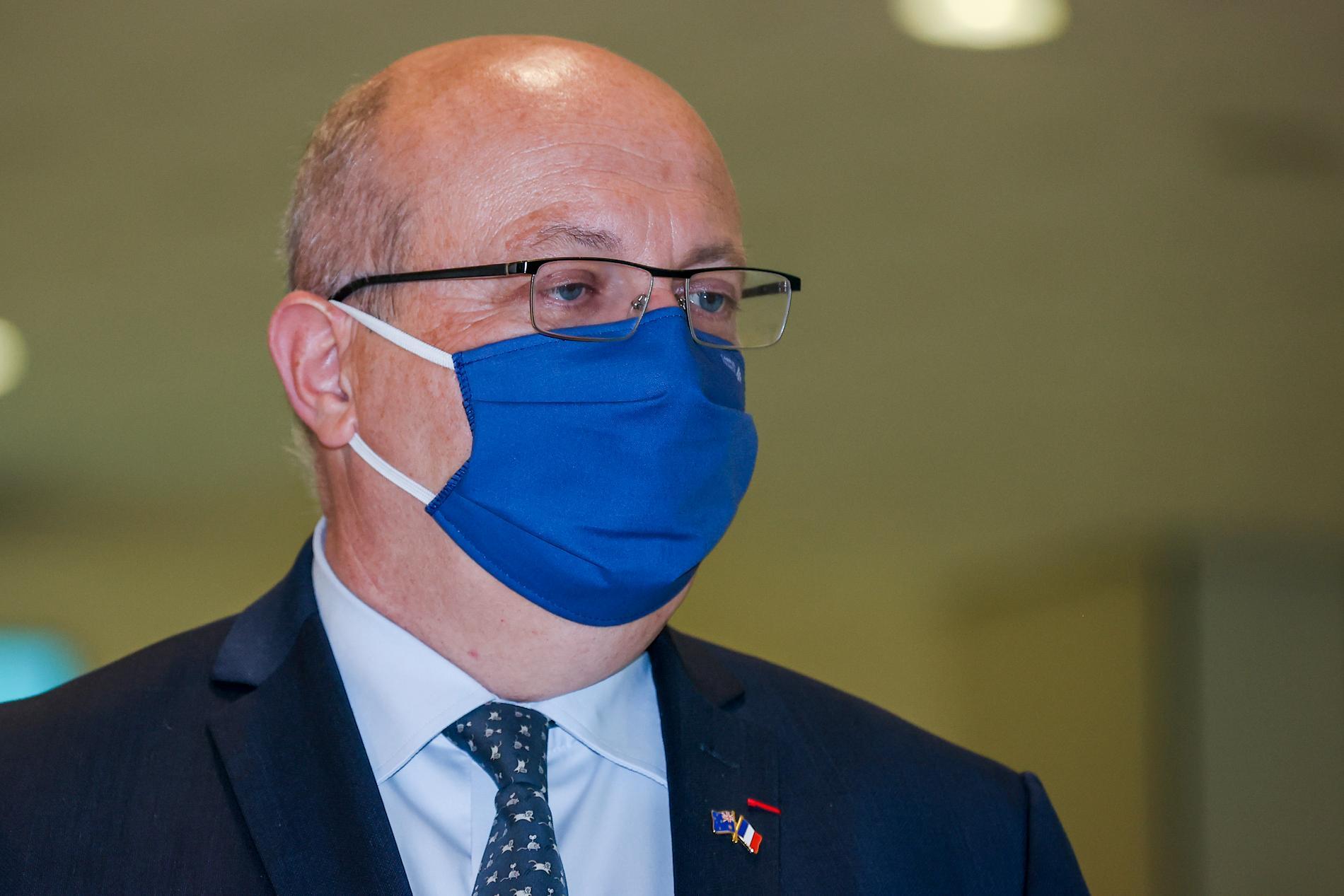Frankrikes Australienambassadör Jean-Pierre Thebault.