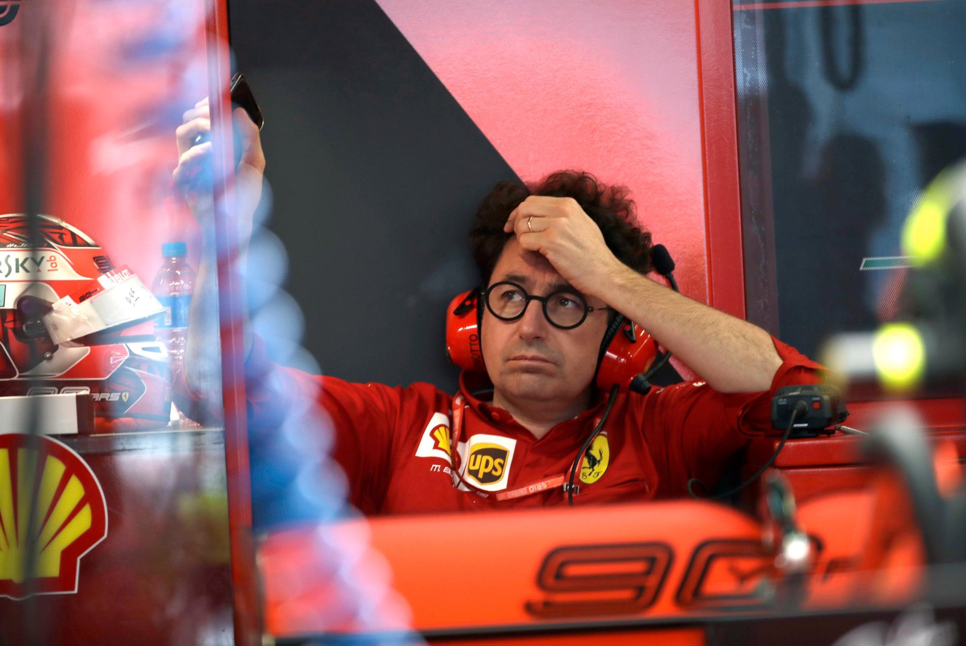 Ferraris teamchef Mattia Binotto
