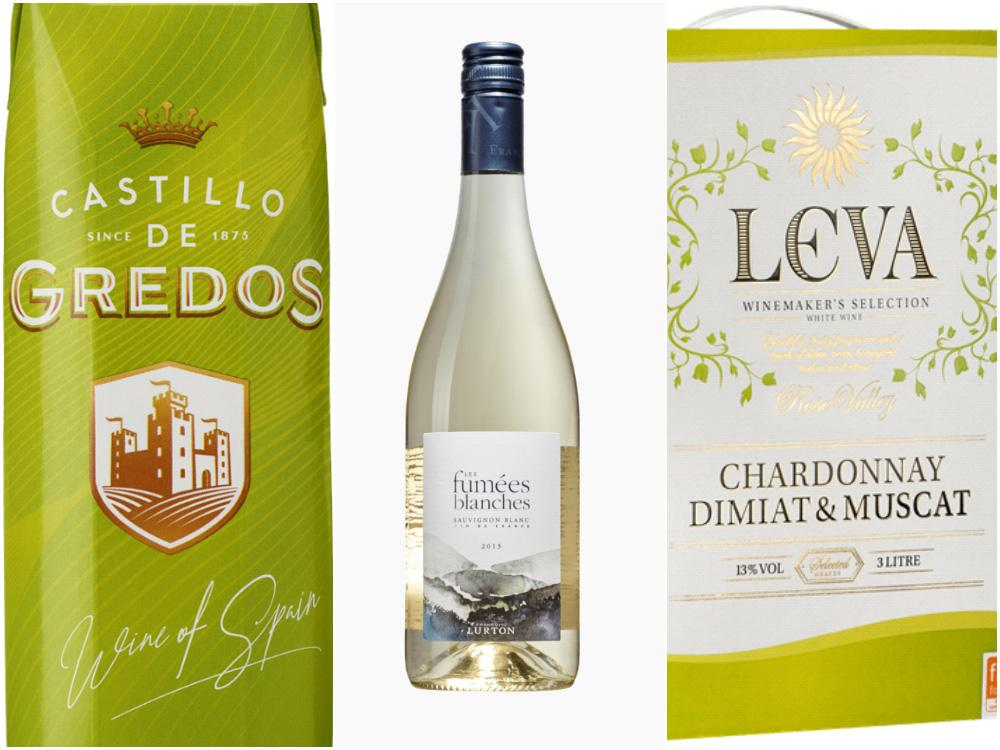 Vitt vin: Bland de vita vinerna valde svenskarna återigen spanskt och fruktigt med Castillo de Gredos Blanco.
