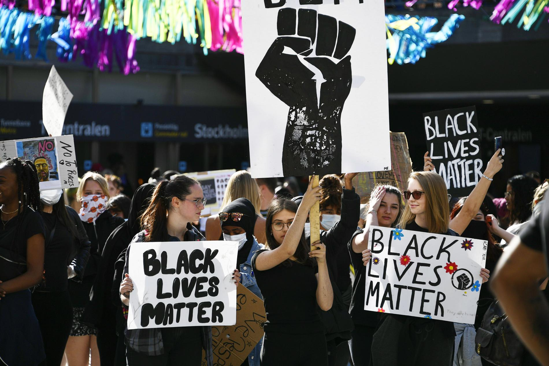"""Demonstrationen hade kunnat stoppas med """"farsot-paragrafen""""."""