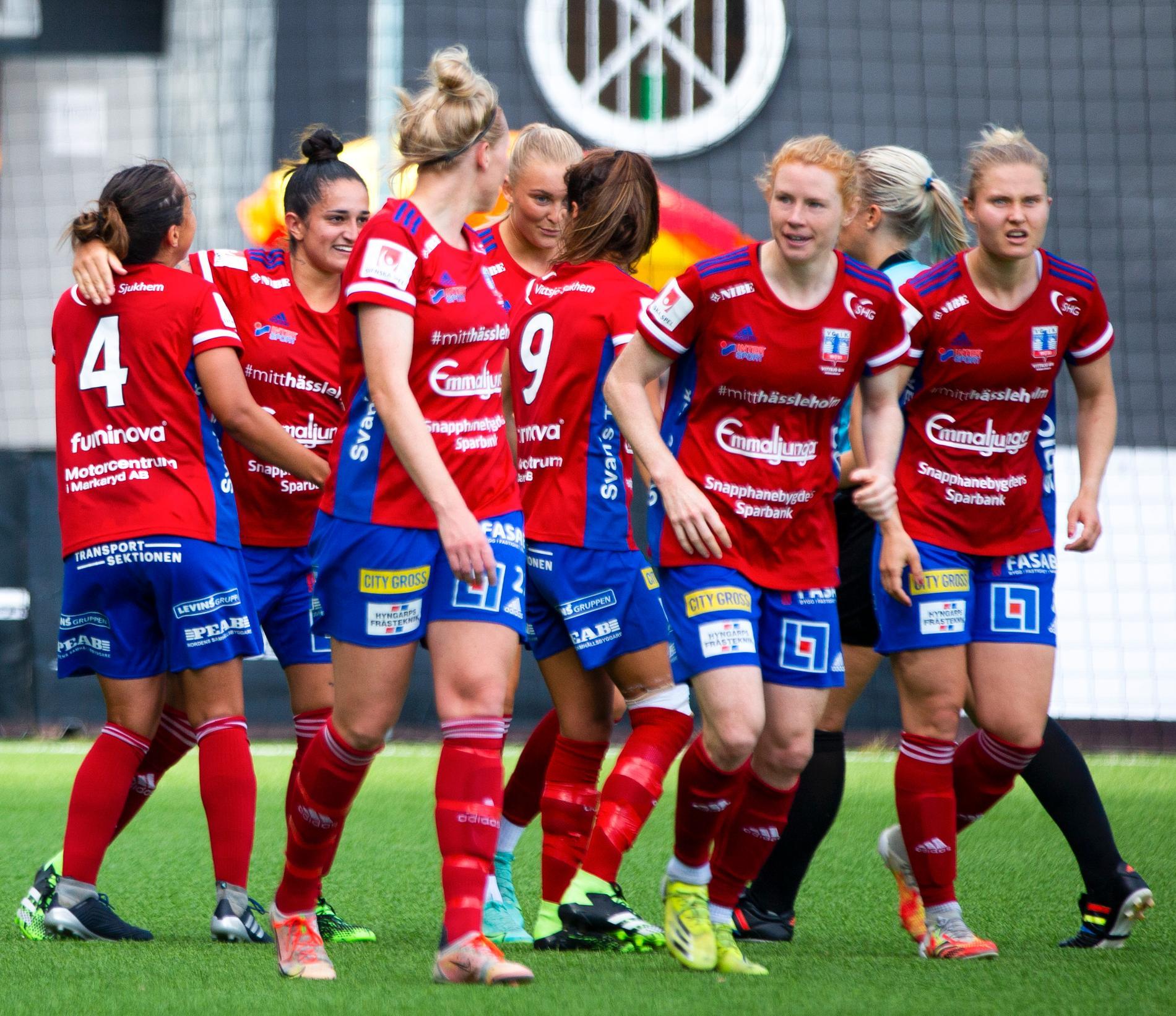 Vittsjö fick 1–1 mot Piteå i damallsvenskan. Arkivbild.