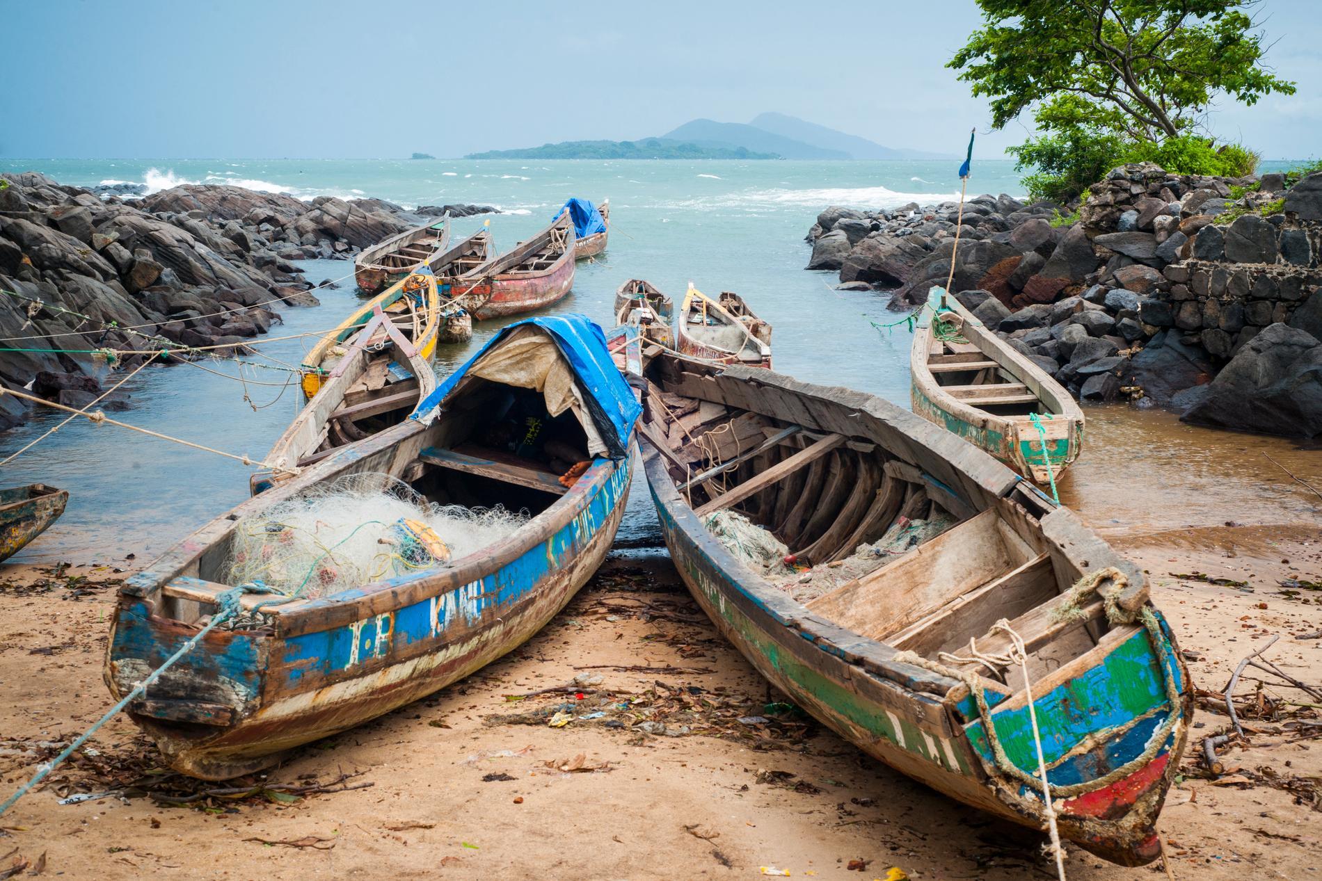 Sierra Leone anses ha turismpotential.