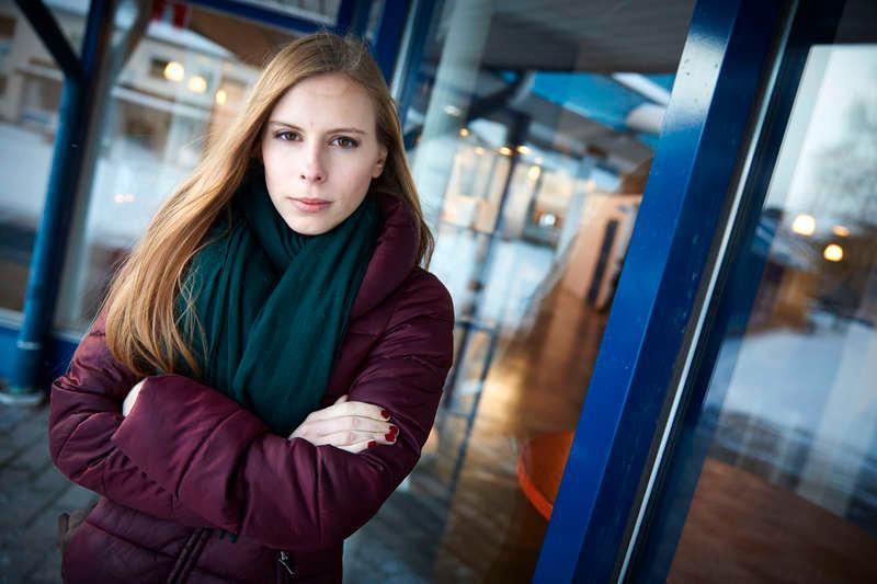 Hanna Wagenius, ordförande för Centerns ungdomsförbund.