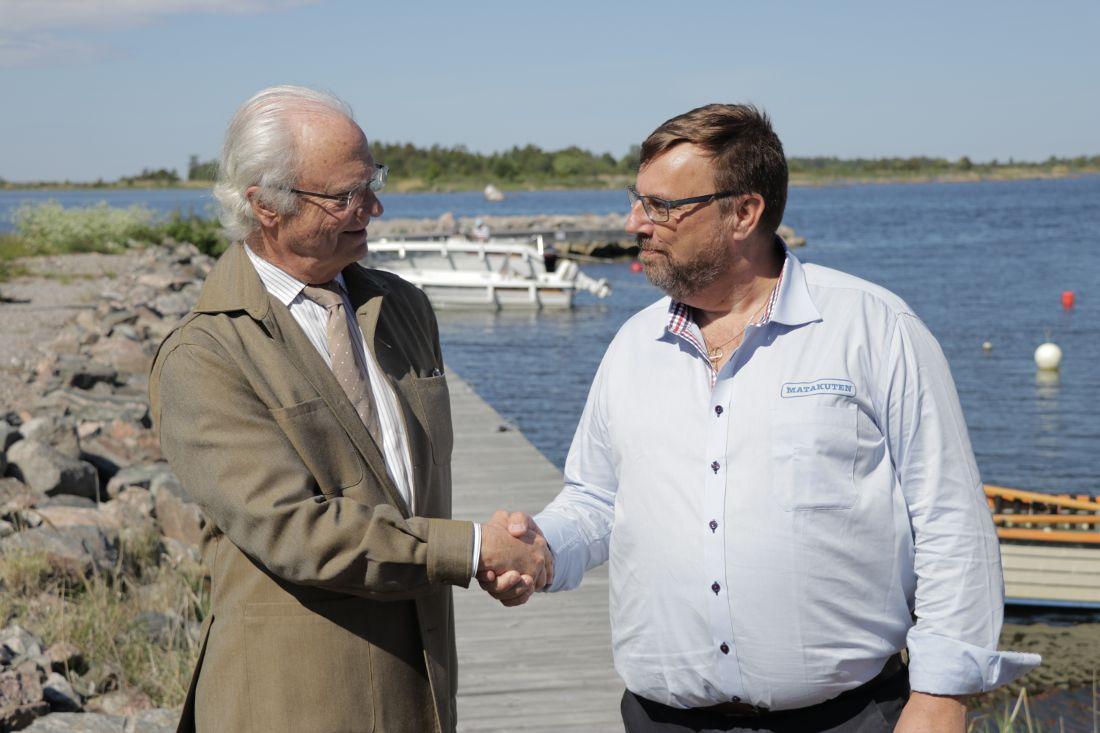 Lasse Wennman var missbrukare i många år. Han fick rätsida på livet och prisades som miljöhjälte. För sin insats fick han föreläsa för kungen.