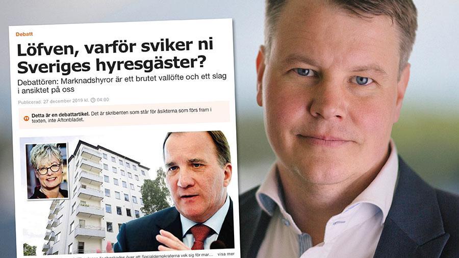 Hyresgästföreningen gör helt rätt i att agera mot marknadshyror, men de bör rikta sig mot de partier som vill ha marknadshyror och ta debatten med dem för alla Sveriges hyresgäster skull, skriver socialdemokraternas Johan Löfstrand.
