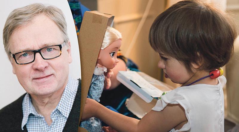 Vilken landstingspolitiker eller sjukvårdsminister skulle själv acceptera om deras barn eller barnbarn med ett livshotande hjärtfel gång efter gång blev stoppade i dörren till sjukhuset, frågar sig treåriga Celins morfar Rolf Fällström.