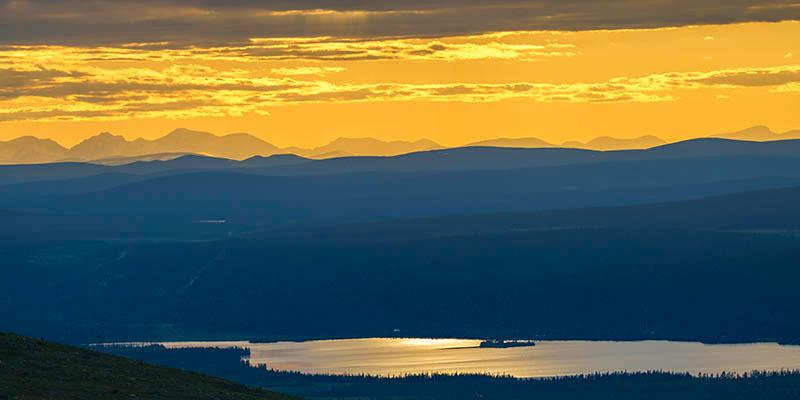Midnattssol – naturfenomen norr om polcirkeln.