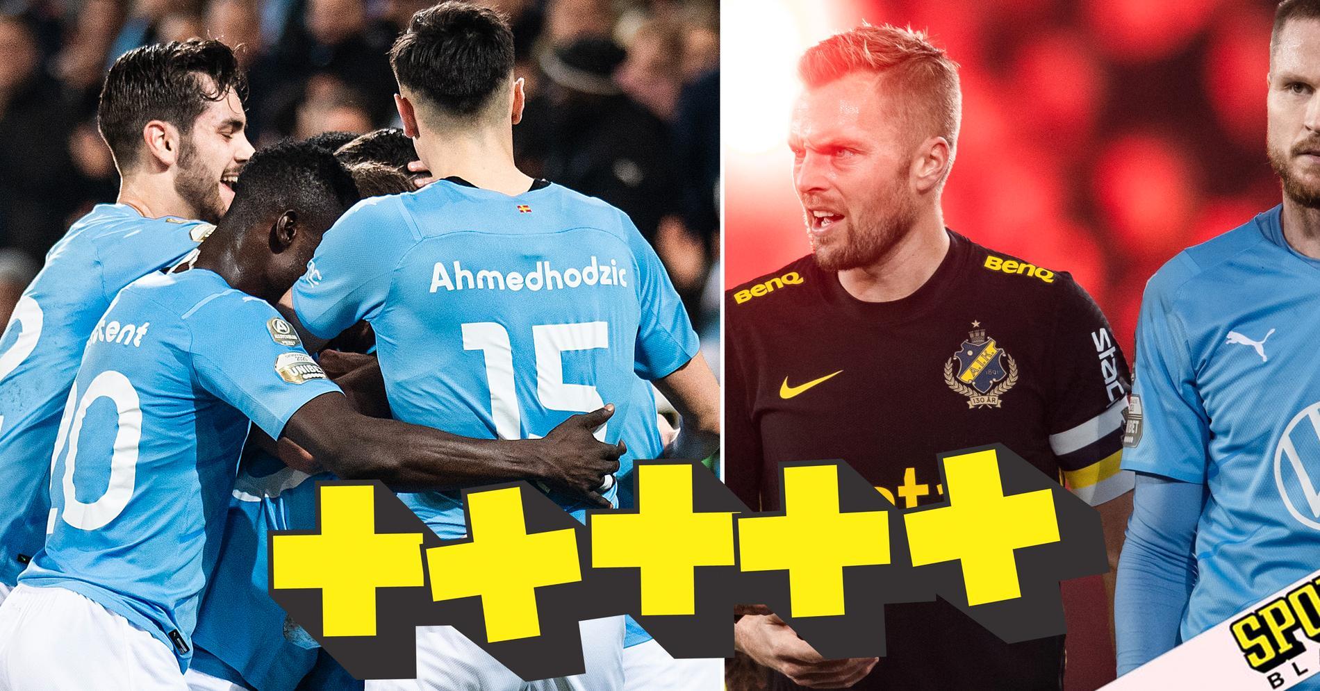 BETYG: De var bäst i stormatchen mellan Malmö och AIK