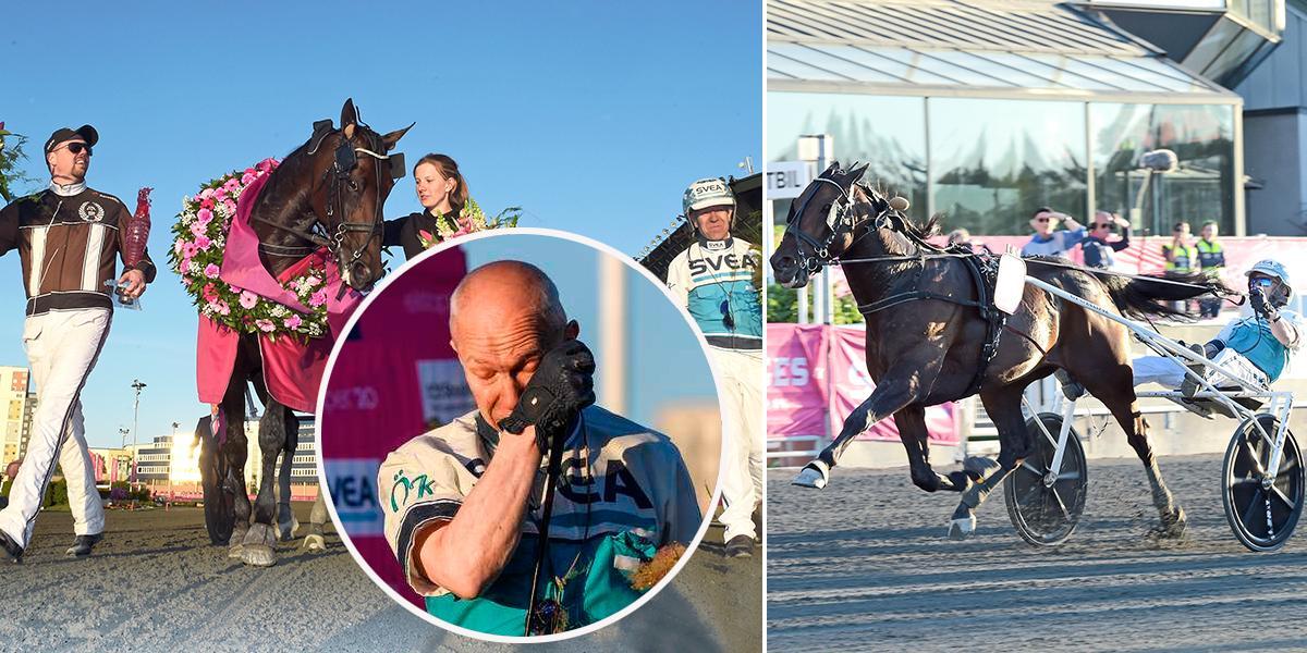Örjan Kihlström vann Elitloppet på Solvalla under söndagen tillsammans med Daniel Redéns Propulsion, som sköts av Ellinor Wennebring.