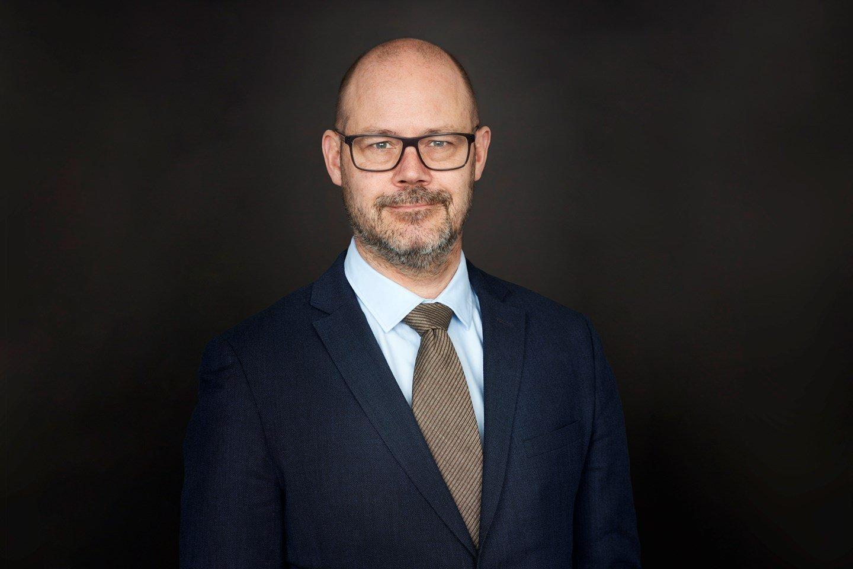 Niklas Johansson, kommunikationsdirektör på LKAB.