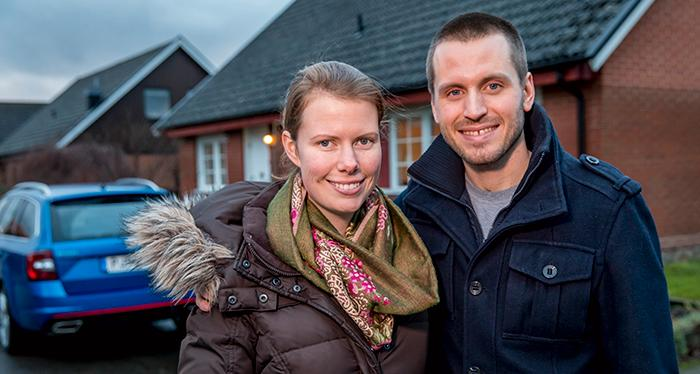Alexandra och Eric Skopal siktar på att vara ekonomiskt oberoende om inom tio år.