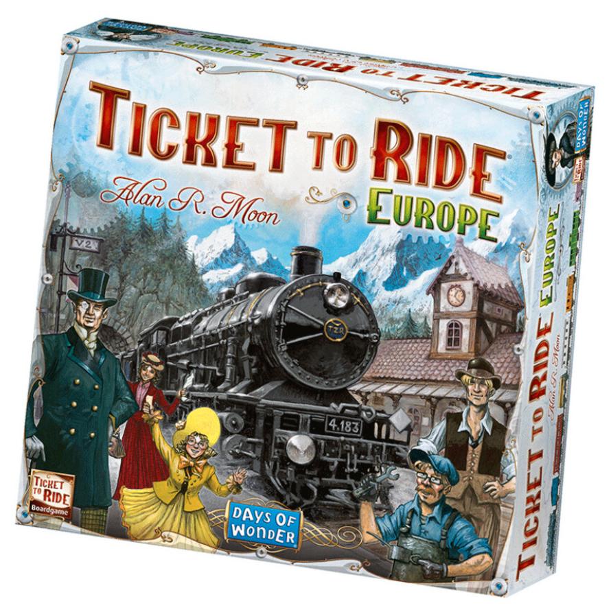 Brädspelet Ticket to Ride