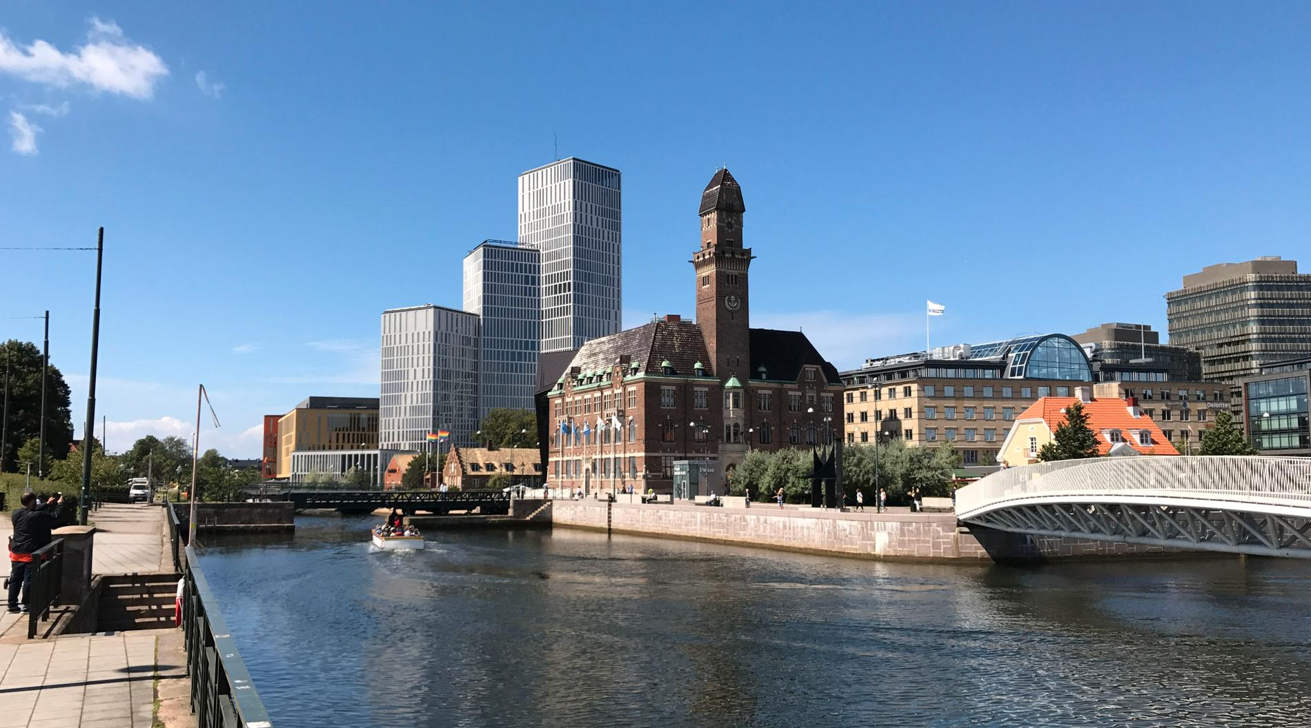Kanalen i Malmö. Arkivbild.