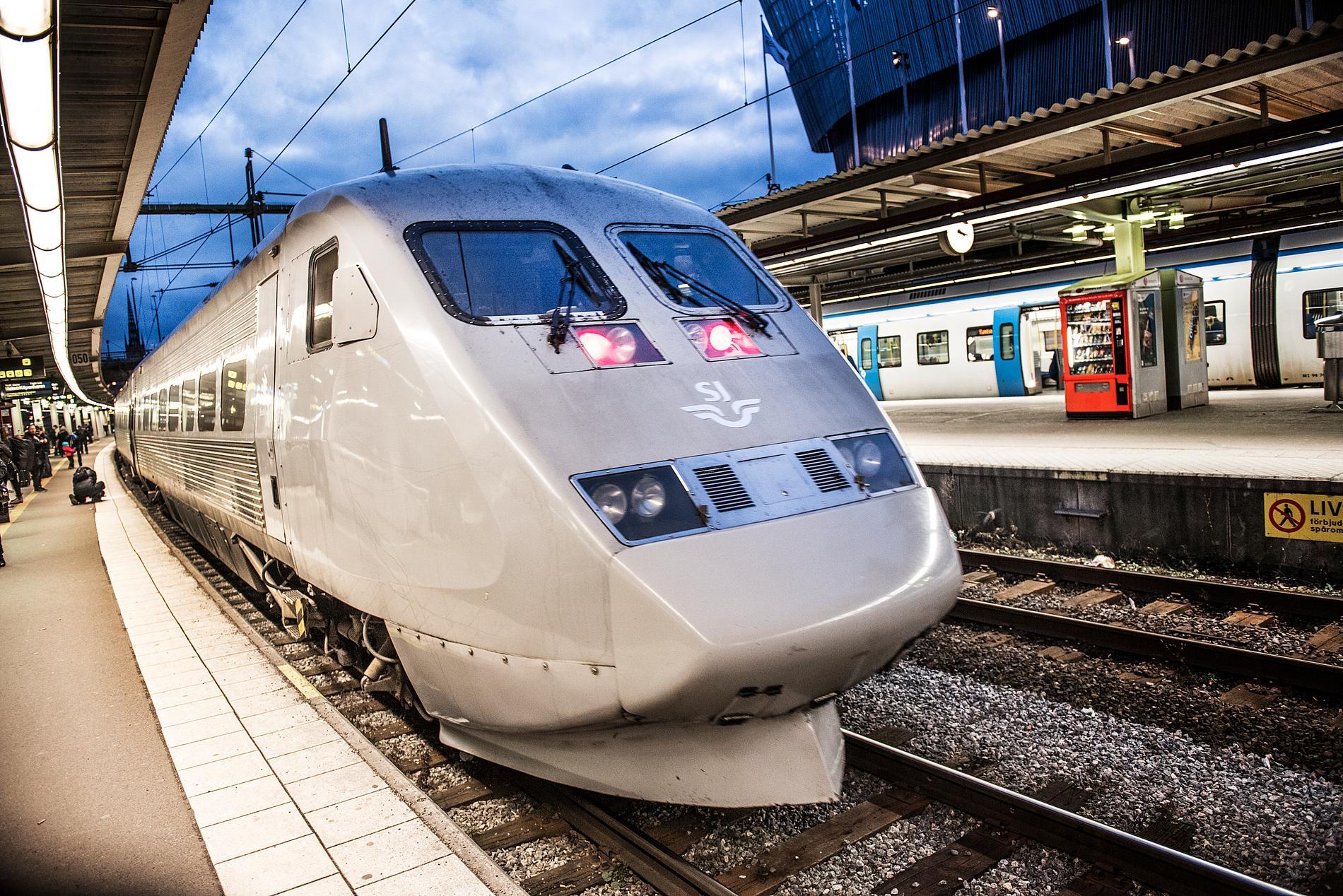 SJ ska göra det enklare att boka utlandsresor med tåg. Arkivbild.