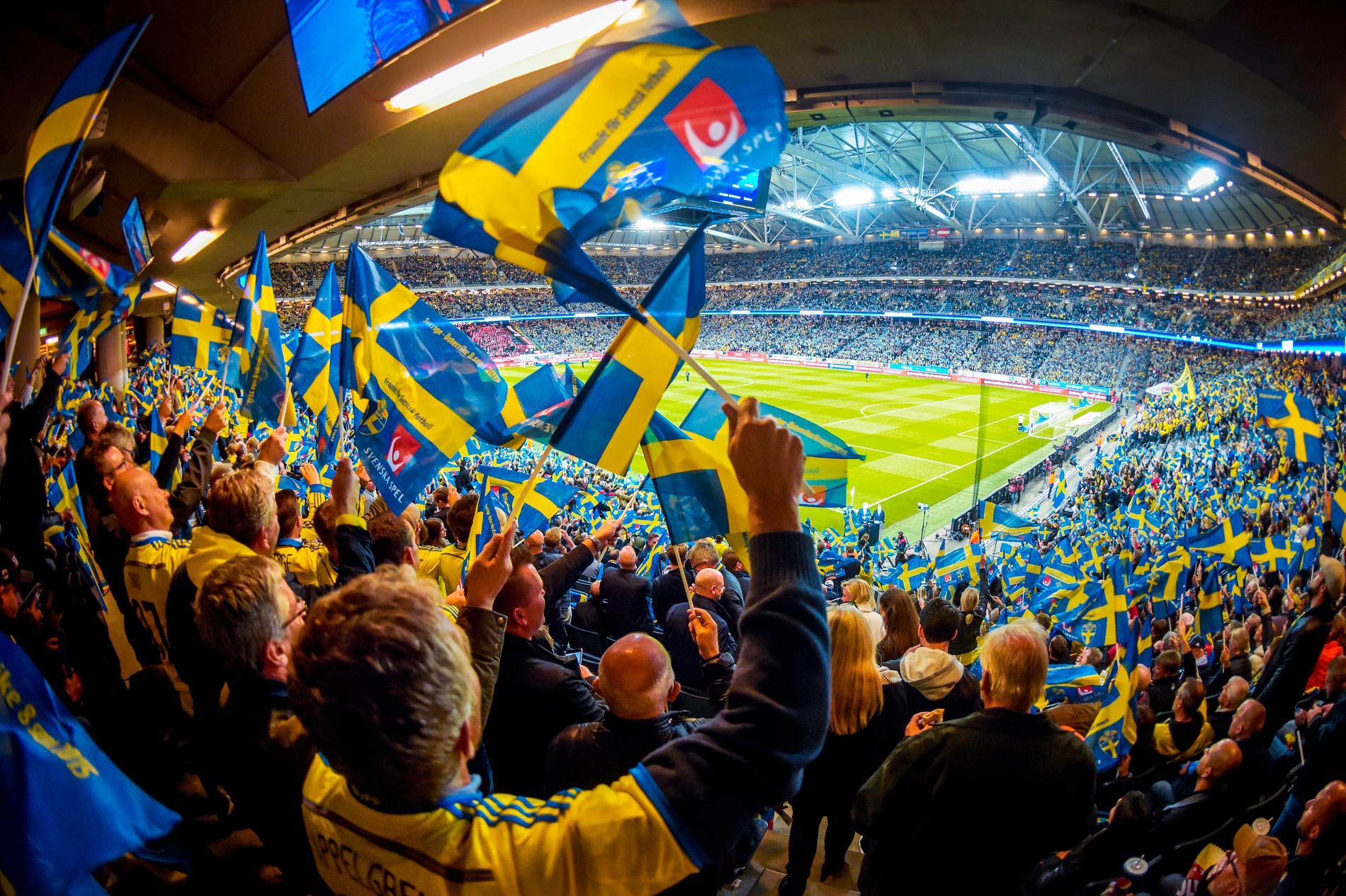 När Sverige mötte Österrike 2015 var det fullsatt.