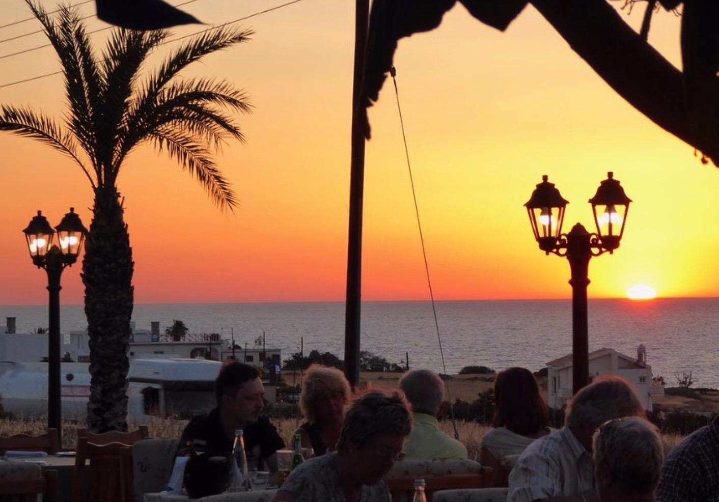 Att turismen ökar i området märks, bland annat av områdets många restaruanger.