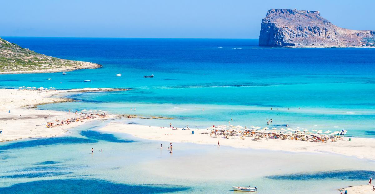 Balos, Kreta, Grekland