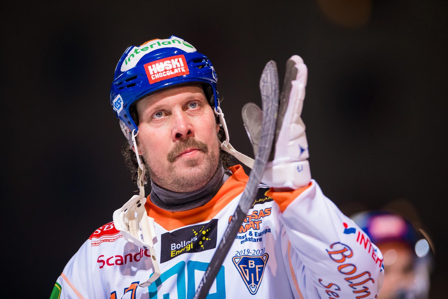 Daniel Mossberg i Bollnäs i fjol.