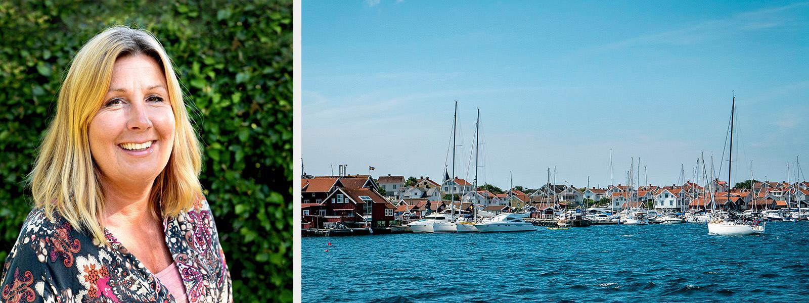 Västkusten har en av världen vackraste skärgårdar, enligt Lena Börtin.