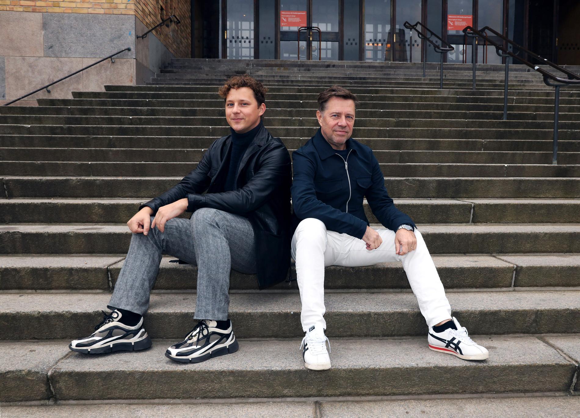 Charlie Gustafsson och Peo Thyrén.