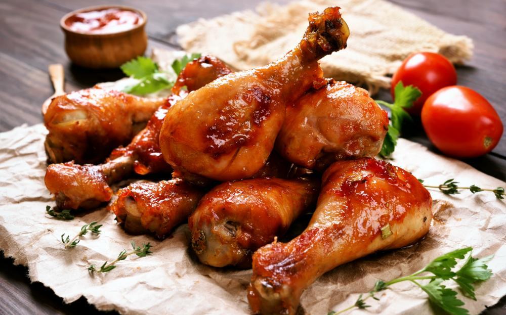 Kycklingklubbor - gott och billigt.