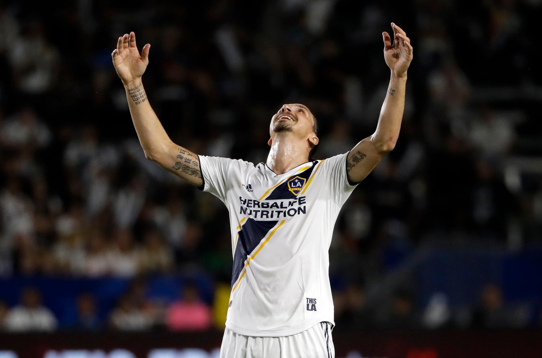 Zlatan Ibrahimovic missar MLS-slutspelet