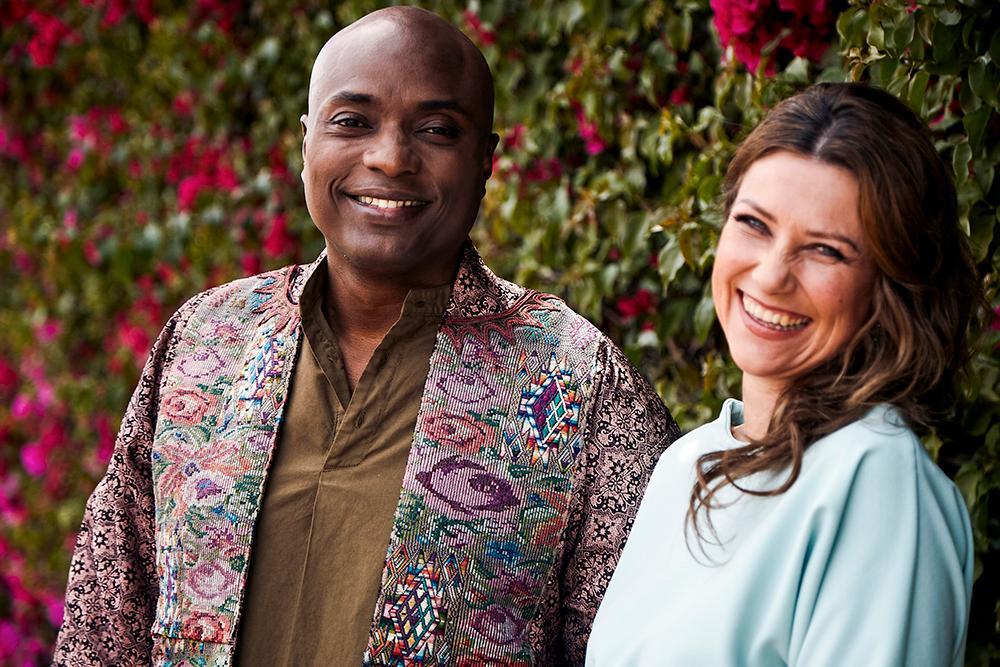 Shaman Durek Verrett och prinsessan Märtha Louise.