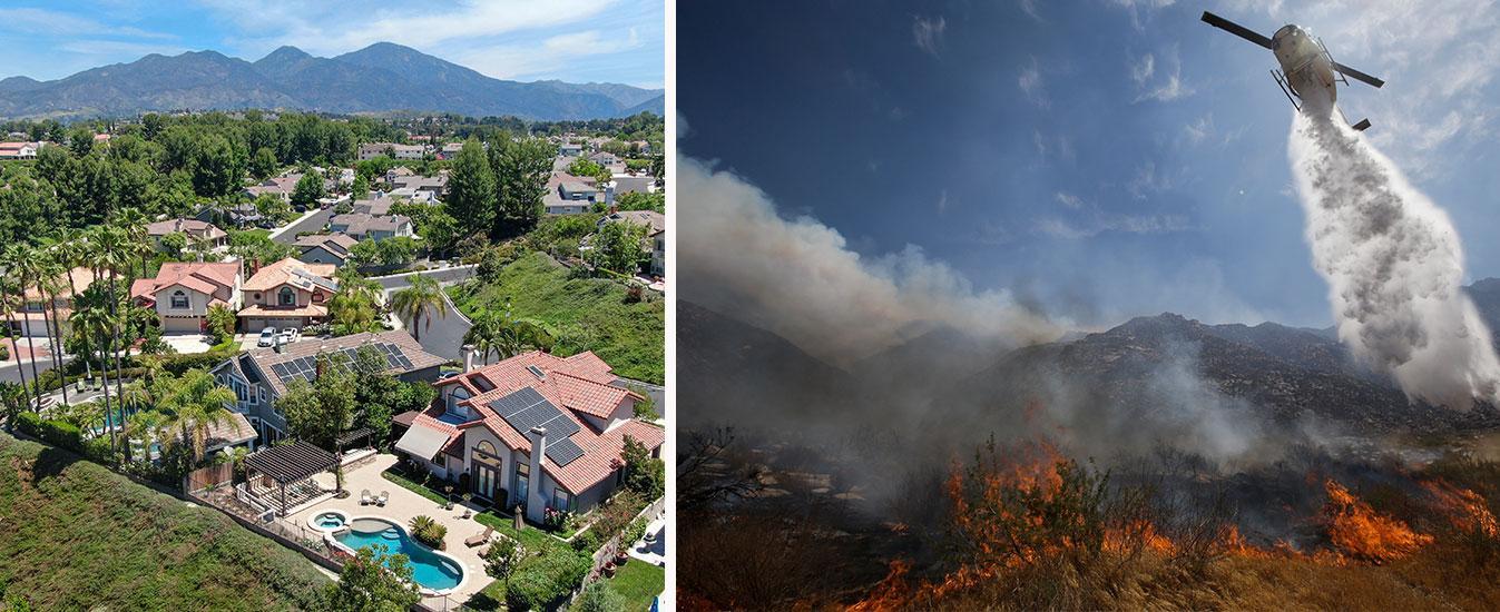 Drömlivet i Kalifornien hotas av värmen.