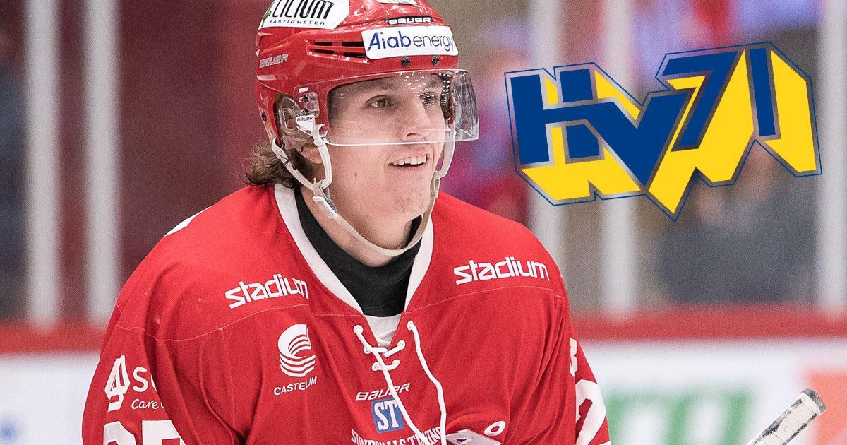 Johannes Kinnvall väljer HV71.