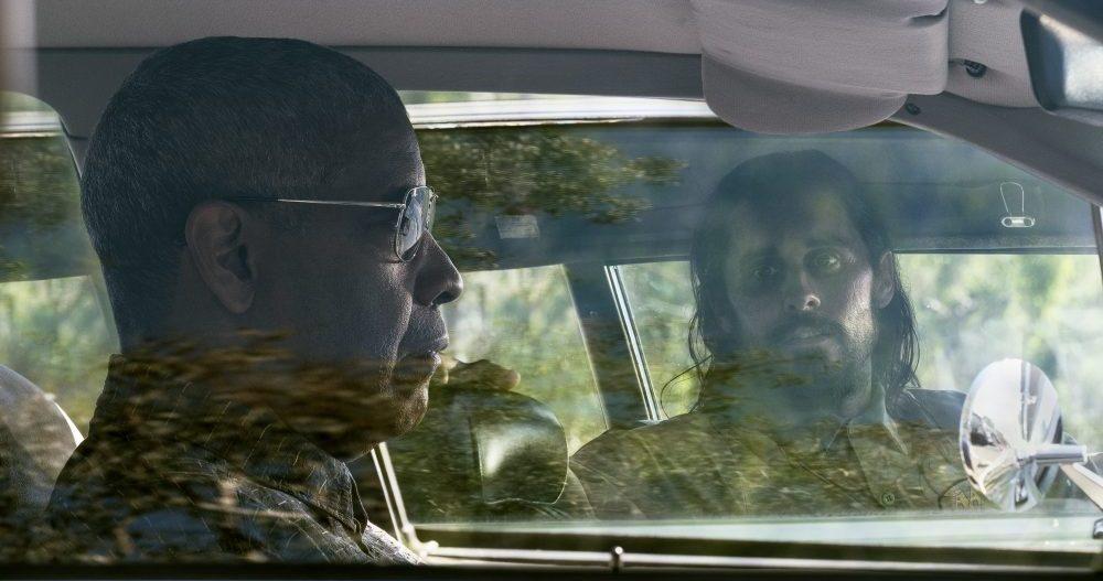 "Denzel Washington och Jared Leto i ""The little things""."