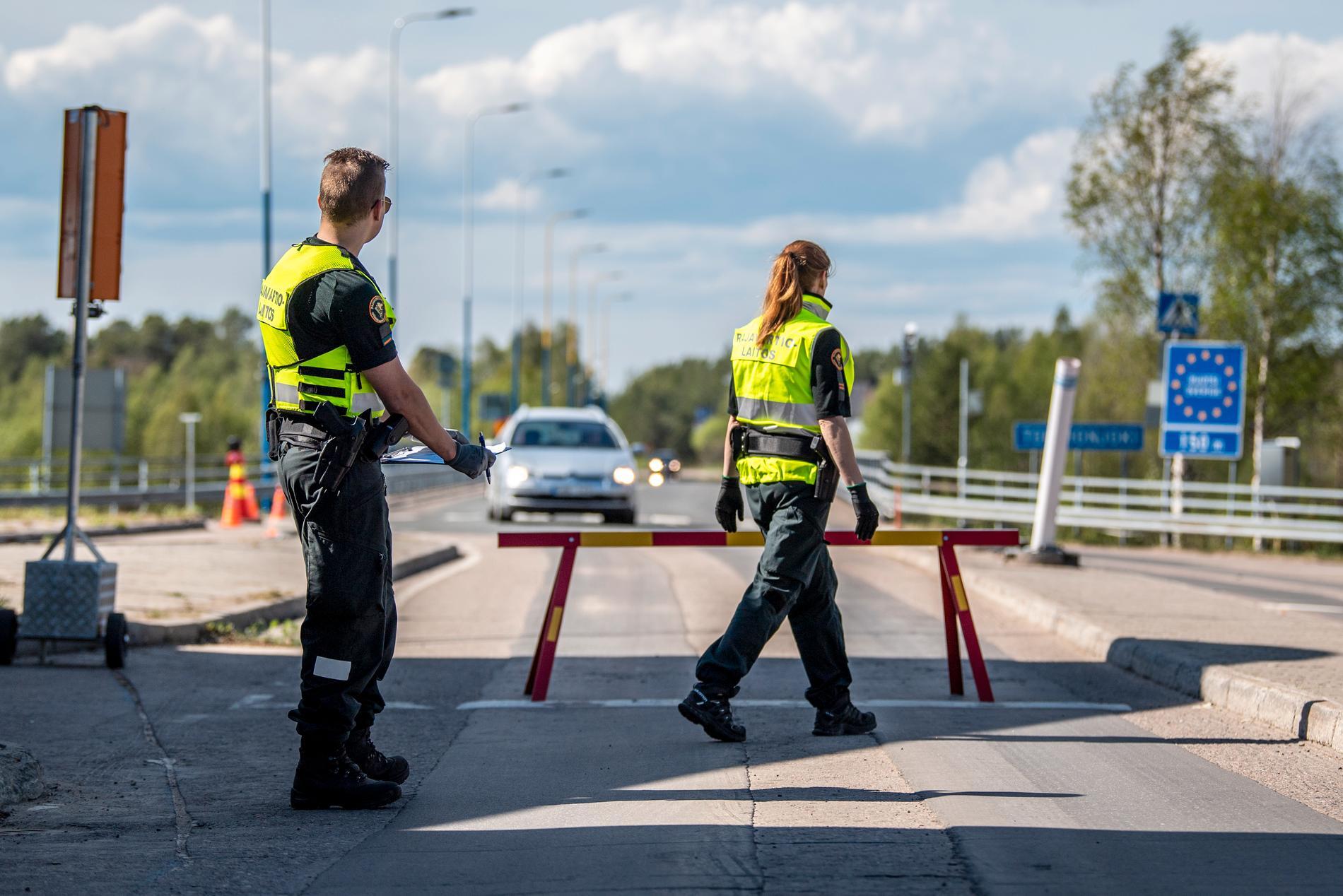 På den finska sidan av gränsen är tongångarna hårda.