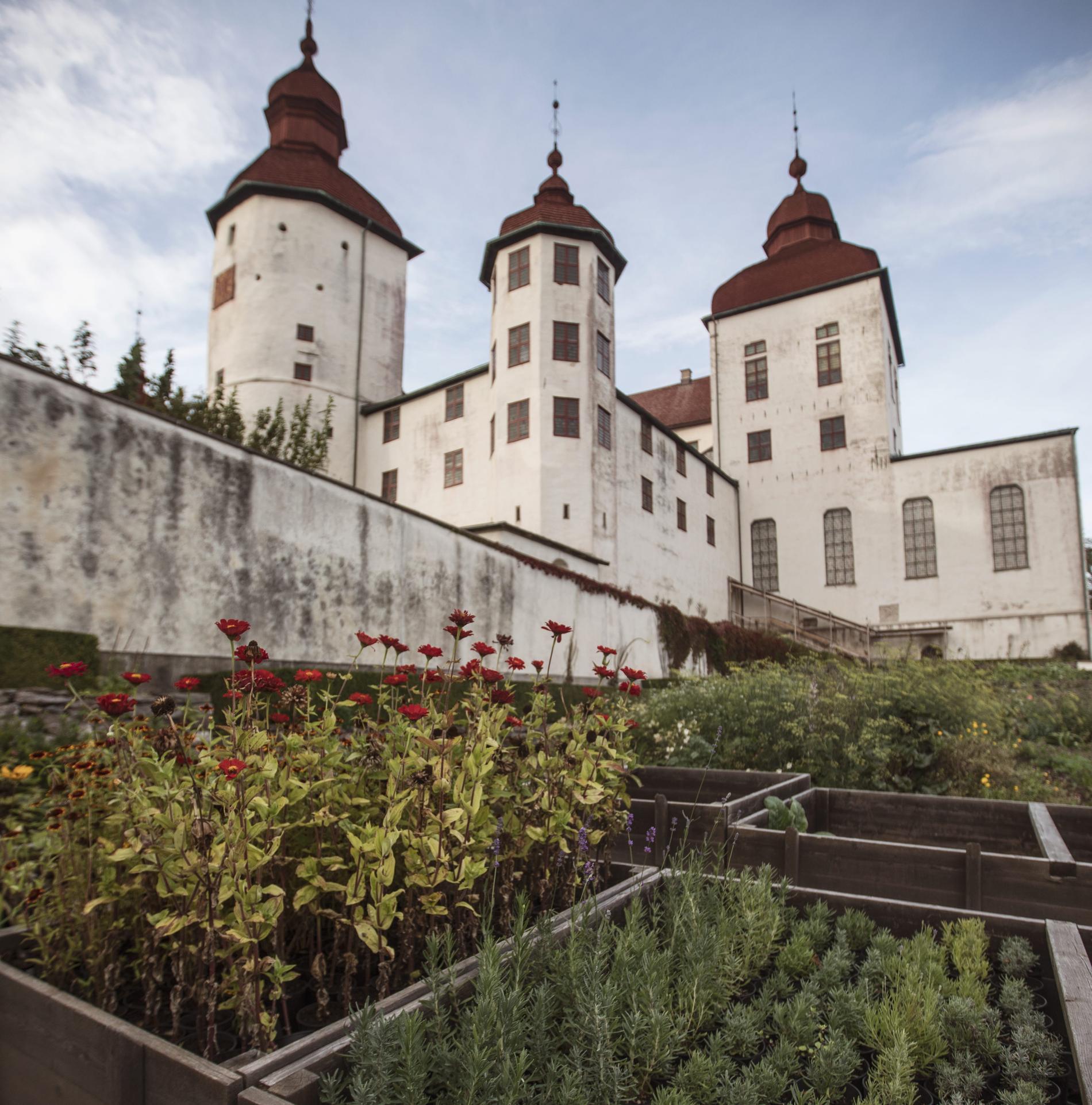 I Läckö slott känner man verkligen av skördetiden.