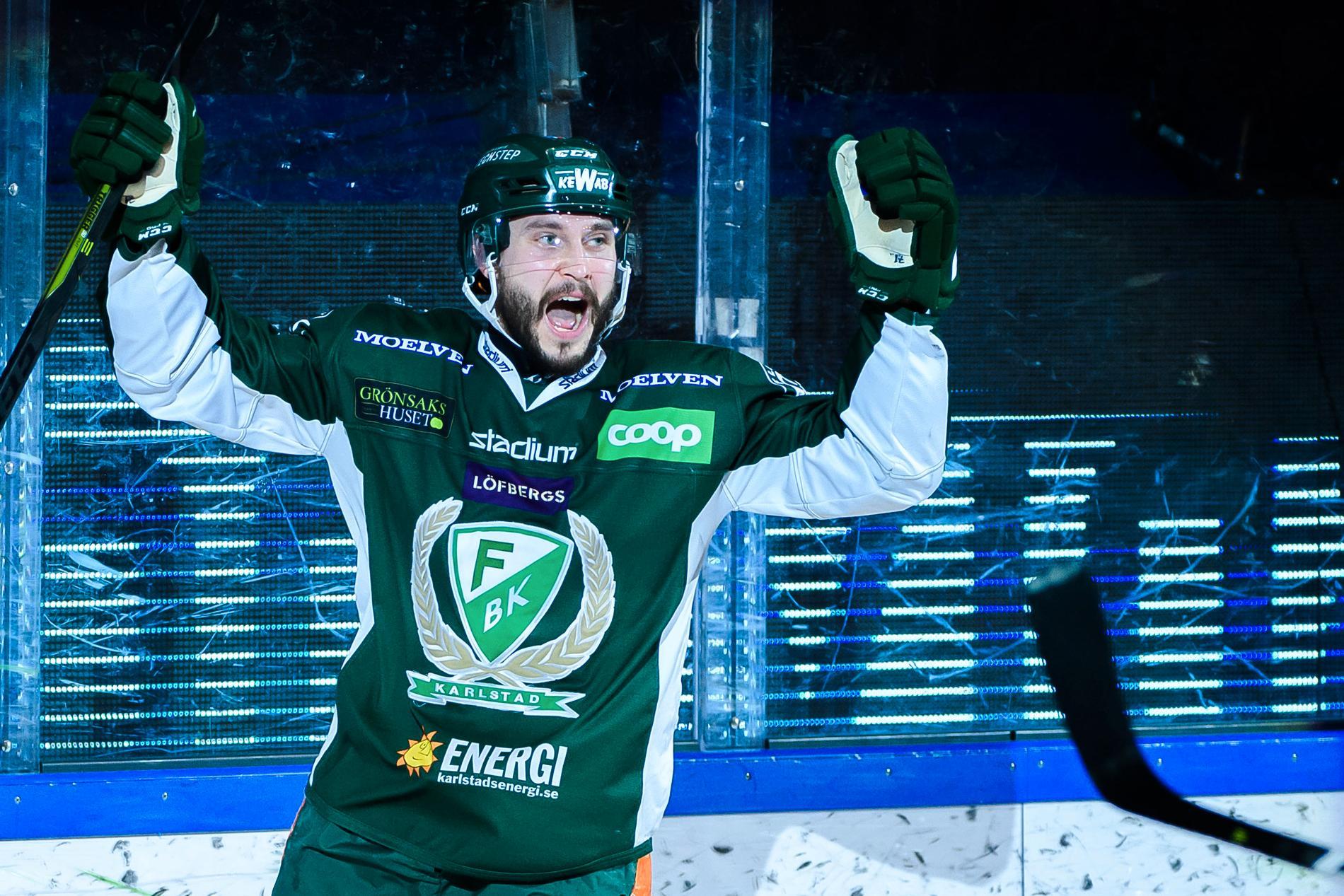 Jesse Virtanen återvänder till Färjestad.