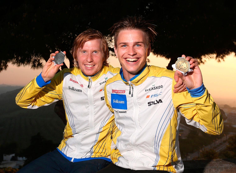 Jerker Lysell tog silver och Jonas Leandersson guld.