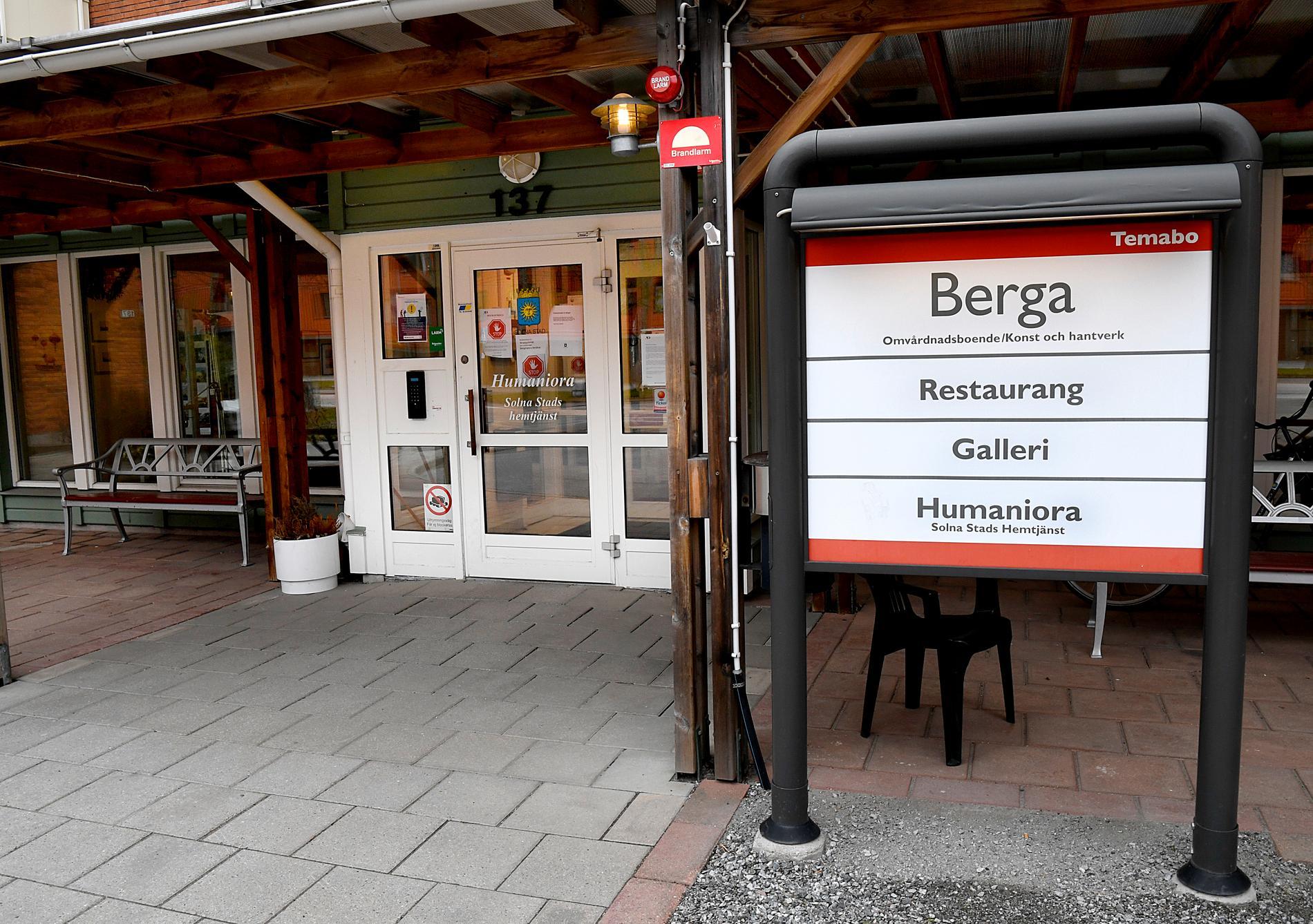 Äldreboendet Berga i Solna.