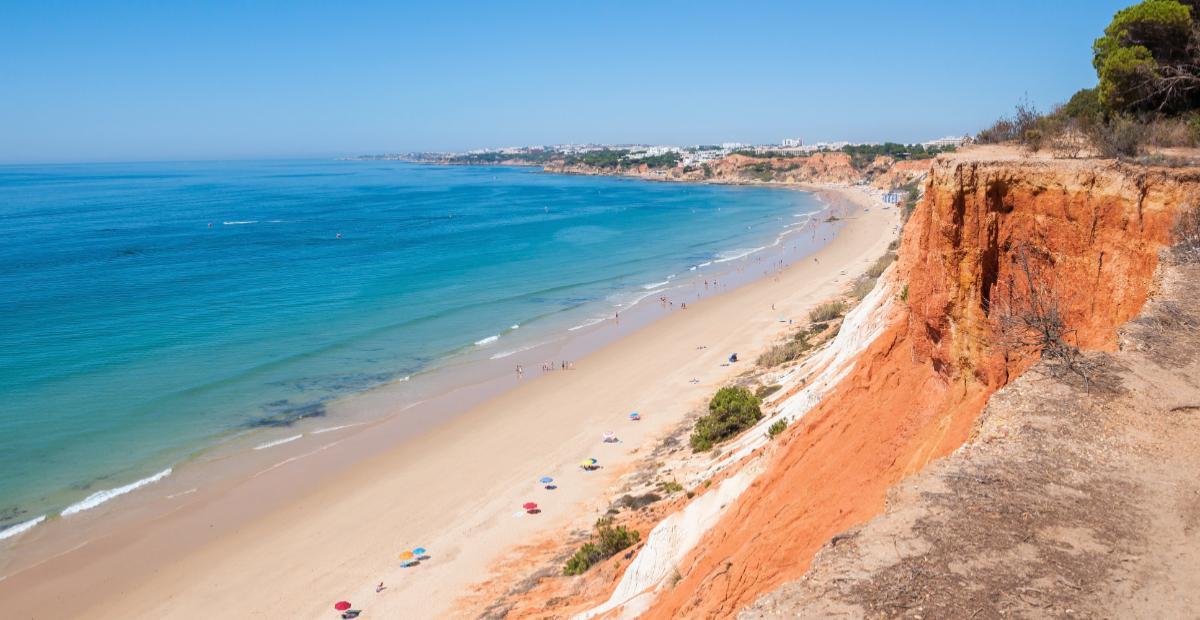 Falesia Beach, Praia da Falésia, Algarve, Portugal