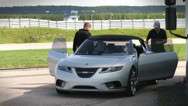 Nya Saab 9-X Air har hållits hemlig fram till nu.