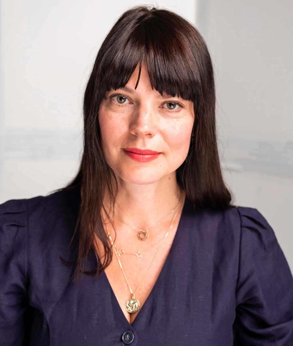 Agnes Mellstrand, psykolog.