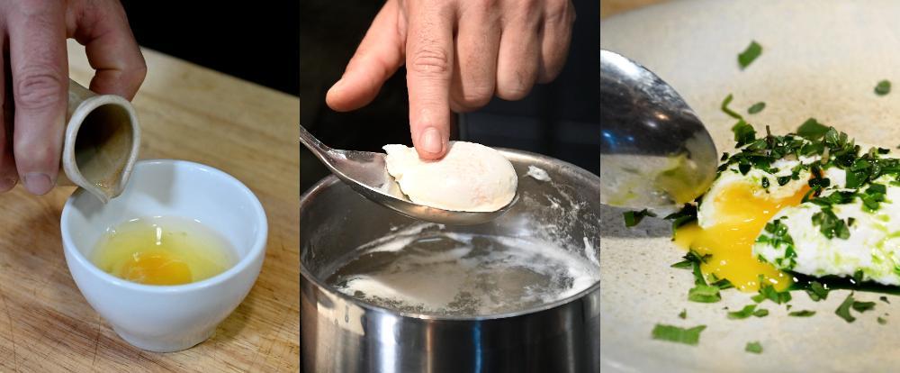 Med några enkla knep blir ägget perfekt pocherat.