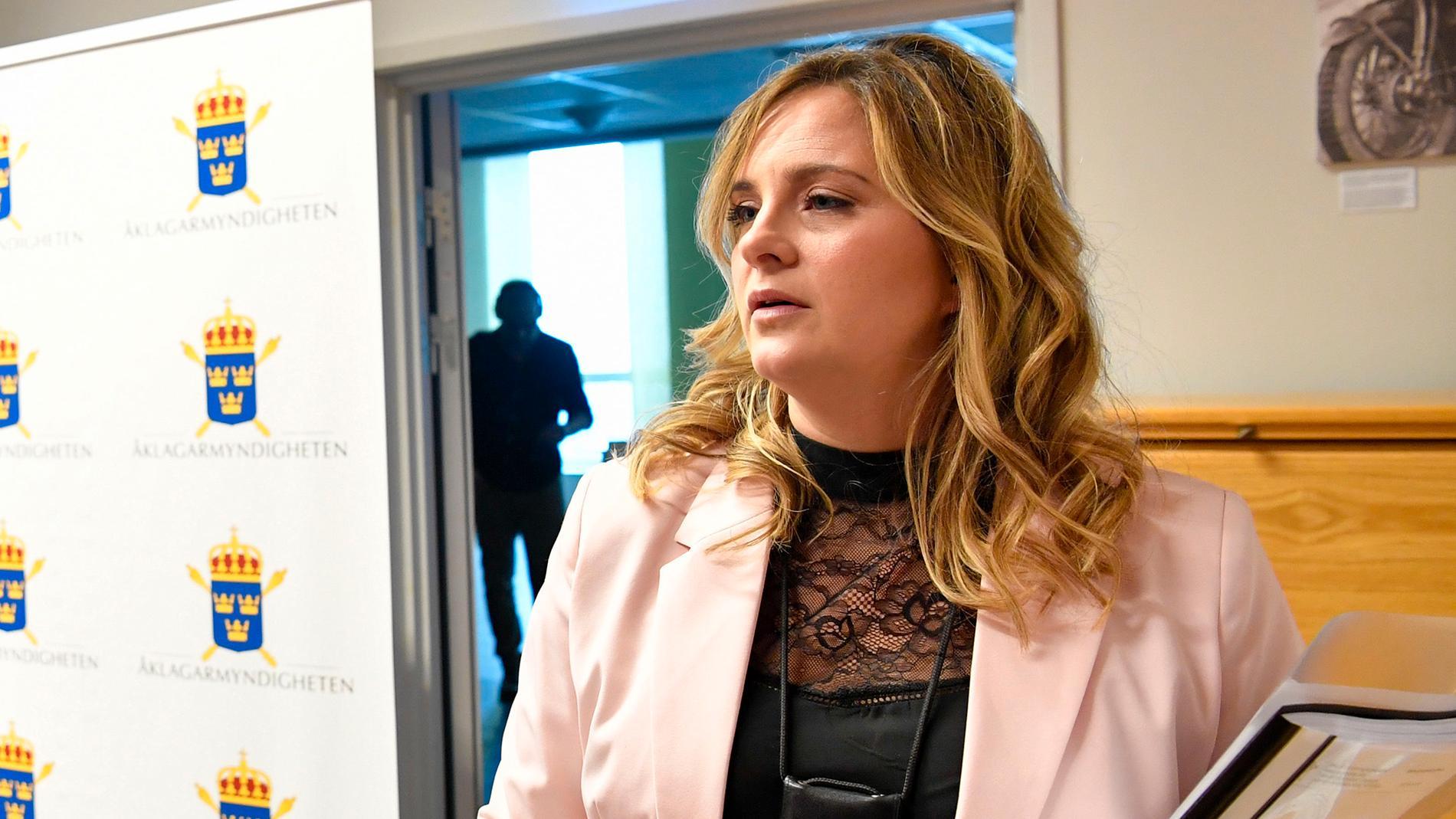 Maja Kullinger, kammaråklagare på Ekobrottsmyndigheten.